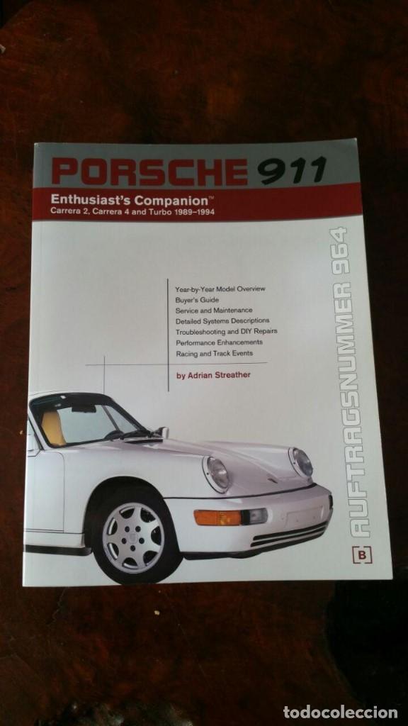 911 MANUAL BOOK SHOP SERVICE REPAIR PORSCHE TECHNICAL DATA 964