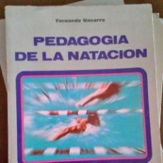 Coleccionismo deportivo: PEDAGOGÍA DE LA NATACIÓN. EDITORIAL MINON. Lote 172754137