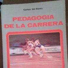 Coleccionismo deportivo: PEDAGOGÍA DE LA CARRERA. ED MINON. Lote 172754312