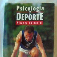 Coleccionismo deportivo: PSICOLOGÍA Y DEPORTE - GUILLERMO PÉREZ / JAUME CRUZ / JOSEP ROCA 1995 - VER INDICE. Lote 173516532