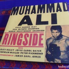 Coleccionismo deportivo: MUHAMMAD ALI RINGSIDE BY JOHN MILLER. A BULFINCH PRESS BOOK. FIRST EDITION 1999. CASSIUS CLAY. NEW.. Lote 173517880