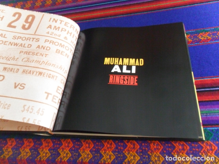 Coleccionismo deportivo: MUHAMMAD ALI RINGSIDE BY JOHN MILLER. A BULFINCH PRESS BOOK. FIRST EDITION 1999. CASSIUS CLAY. NEW. - Foto 4 - 173517880