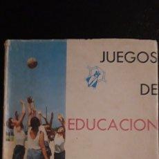 Coleccionismo deportivo: 1 ENCICLOP. DE ** JUEGOS DE EDUCACION FISICA ** - P. GOMEZ VALLE AÑO 1963 SANTILLANA. CANITO. Lote 173863789