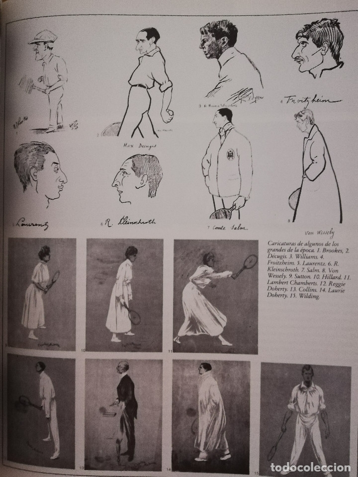 Coleccionismo deportivo: LIBRO WINSTON DEL TENIS. 500 AÑOS DE HISTORIA (GIANNI CLERICI) - Foto 7 - 173913642
