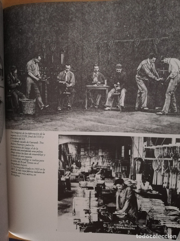 Coleccionismo deportivo: LIBRO WINSTON DEL TENIS. 500 AÑOS DE HISTORIA (GIANNI CLERICI) - Foto 10 - 173913642