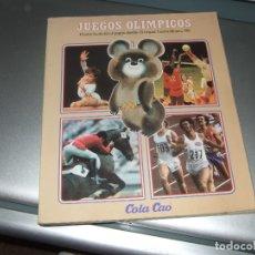 Coleccionismo deportivo: LIBRO JUEGOS OLIMPICOS MOSCU 80 OSITO MISHA. Lote 173970850