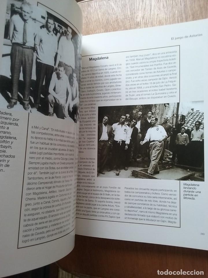 Coleccionismo deportivo: BOLOS EL JUEGO DE ASTURIAS, JOSE ENRIQUE MENCIA MARTINEZ, 2007 - Foto 2 - 174161139