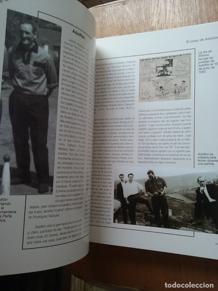 Coleccionismo deportivo: BOLOS EL JUEGO DE ASTURIAS, JOSE ENRIQUE MENCIA MARTINEZ, 2007 - Foto 3 - 174161139