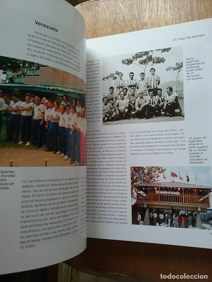 Coleccionismo deportivo: BOLOS EL JUEGO DE ASTURIAS, JOSE ENRIQUE MENCIA MARTINEZ, 2007 - Foto 4 - 174161139