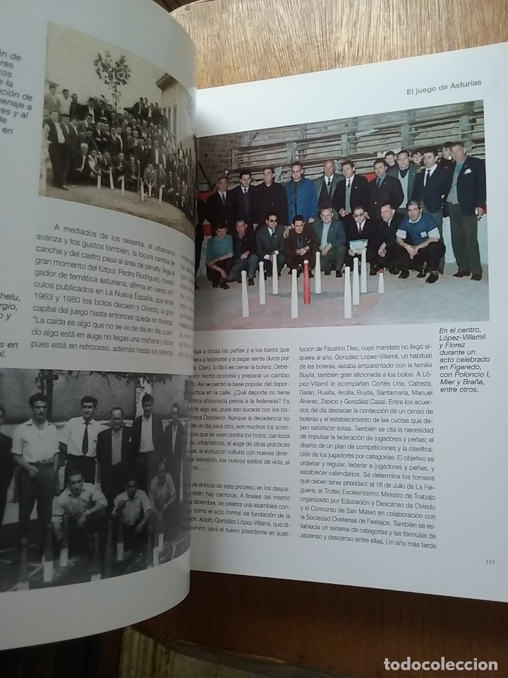 Coleccionismo deportivo: BOLOS EL JUEGO DE ASTURIAS, JOSE ENRIQUE MENCIA MARTINEZ, 2007 - Foto 5 - 174161139
