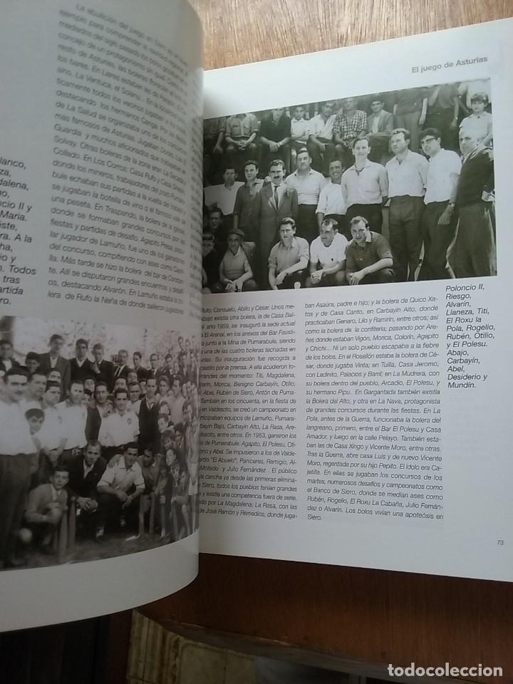 Coleccionismo deportivo: BOLOS EL JUEGO DE ASTURIAS, JOSE ENRIQUE MENCIA MARTINEZ, 2007 - Foto 6 - 174161139