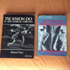 Coleccionismo deportivo: TAE KWON DO EL ARTE MARCIAL COREANO Y NUEVOS PUMSE. Lote 175335538