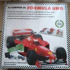 Coleccionismo deportivo: LA CARPETA DE FÓRMULA UNO - 10 GRANDES DESPLEGABLES Y 40 ELEMENTOS INTERACTIVOS - POP UP D50. Lote 175441400