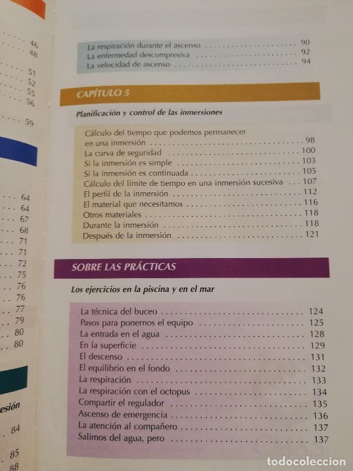 Coleccionismo deportivo: MANUAL CMAS 1 STAR DIVER. MANUAL DEL ALUMNO B-1E (FEDERACIÓN ESPAÑOLA DE ACTIVIDADES SUBACUÁTICAS) - Foto 4 - 175767434