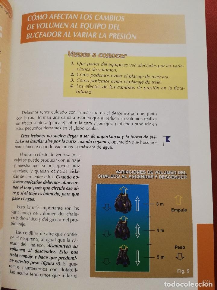 Coleccionismo deportivo: MANUAL CMAS 1 STAR DIVER. MANUAL DEL ALUMNO B-1E (FEDERACIÓN ESPAÑOLA DE ACTIVIDADES SUBACUÁTICAS) - Foto 9 - 175767434