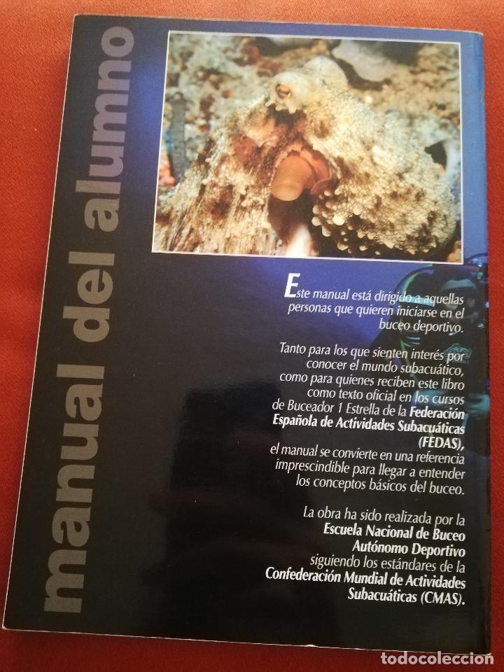 Coleccionismo deportivo: MANUAL CMAS 1 STAR DIVER. MANUAL DEL ALUMNO B-1E (FEDERACIÓN ESPAÑOLA DE ACTIVIDADES SUBACUÁTICAS) - Foto 15 - 175767434