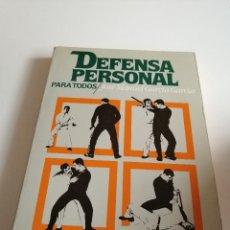 Coleccionismo deportivo: G-10L18 LIBRO DEFENSA PERSONAL PARA TODOS JOSE MANUEL GARCIA. Lote 176283854