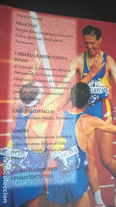 Coleccionismo deportivo: ATLETISMO: VOL I (CARRERAS Y MARCHA) - VOL 2 (VERTICALES) -VOL 3 (LANZAMIENTOS). JULIO BRAVO. - Foto 3 - 176728103