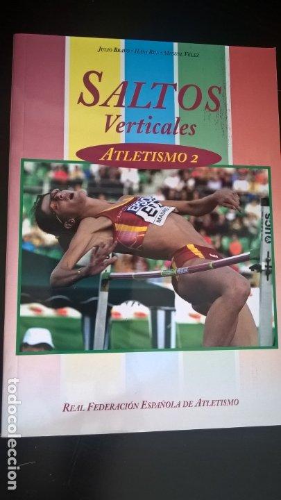 Coleccionismo deportivo: ATLETISMO: VOL I (CARRERAS Y MARCHA) - VOL 2 (VERTICALES) -VOL 3 (LANZAMIENTOS). JULIO BRAVO. - Foto 5 - 176728103