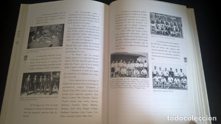 Coleccionismo deportivo: EL HOCKEY A CATALUNYA. FEDERACION CATALANA DE HOCKEY. EN CATALAN (CATALA). - Foto 2 - 176809037
