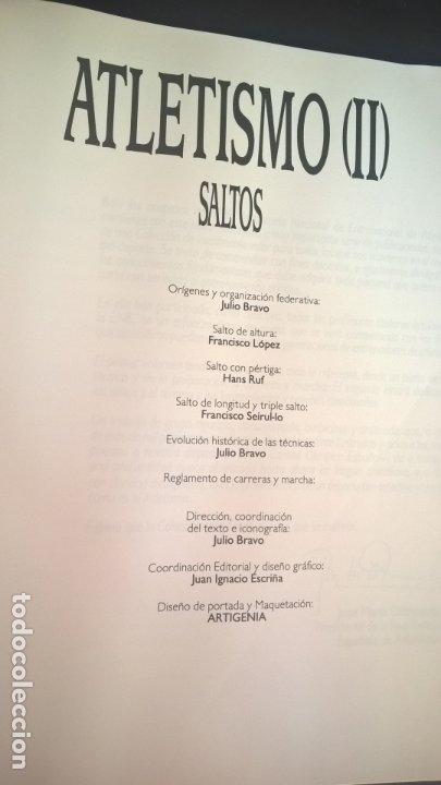 Coleccionismo deportivo: ATLETISMO II SALTOS. JULIO BRAVO, FRANCISCO LOPEZ, HANS RUF, FRANCISCO SEIRUL-LO. - Foto 18 - 177305233