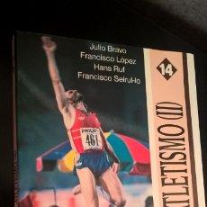Coleccionismo deportivo: ATLETISMO II SALTOS. JULIO BRAVO, FRANCISCO LOPEZ, HANS RUF, FRANCISCO SEIRUL-LO. . Lote 177305233