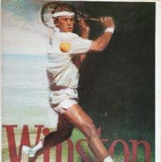 Coleccionismo deportivo: LIBRO WINSTON DEL TENIS, 500 AÑOS DE HISTORIA - GIANNI CLERICI - GTS, S.A., 1988 (1ª ED.). Lote 177578343