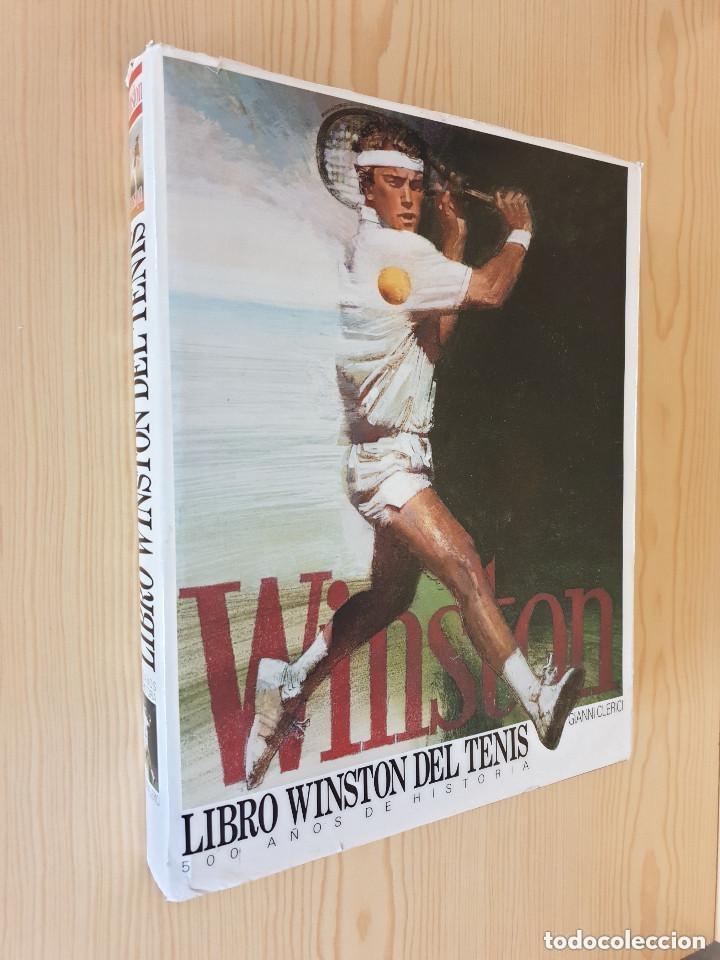 Coleccionismo deportivo: LIBRO WINSTON DEL TENIS, 500 AÑOS DE HISTORIA - GIANNI CLERICI - GTS, S.A., 1988 (1ª ED.) - Foto 2 - 177578343