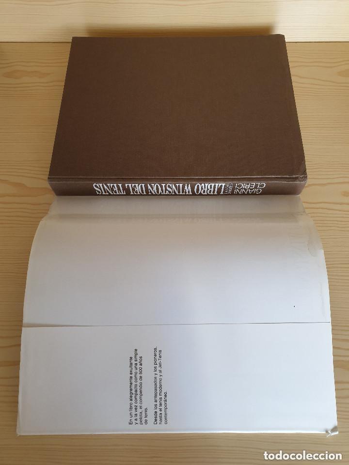 Coleccionismo deportivo: LIBRO WINSTON DEL TENIS, 500 AÑOS DE HISTORIA - GIANNI CLERICI - GTS, S.A., 1988 (1ª ED.) - Foto 3 - 177578343
