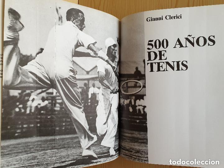 Coleccionismo deportivo: LIBRO WINSTON DEL TENIS, 500 AÑOS DE HISTORIA - GIANNI CLERICI - GTS, S.A., 1988 (1ª ED.) - Foto 5 - 177578343