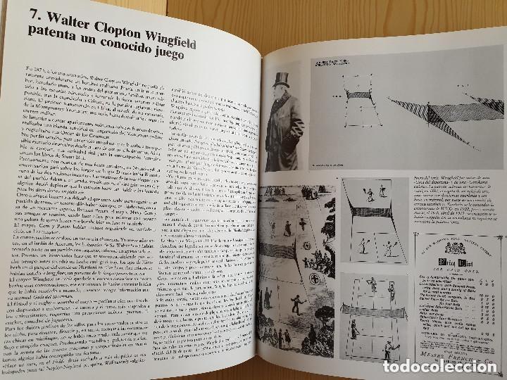 Coleccionismo deportivo: LIBRO WINSTON DEL TENIS, 500 AÑOS DE HISTORIA - GIANNI CLERICI - GTS, S.A., 1988 (1ª ED.) - Foto 8 - 177578343