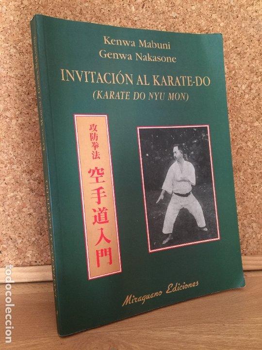 INVITACION AL KARATE-DO - K. MABUNI / G. NAKASONE - MIRAGUANO EDICIONES - ILUSTRADO - BUEN ESTADO (Coleccionismo Deportivo - Libros de Deportes - Otros)