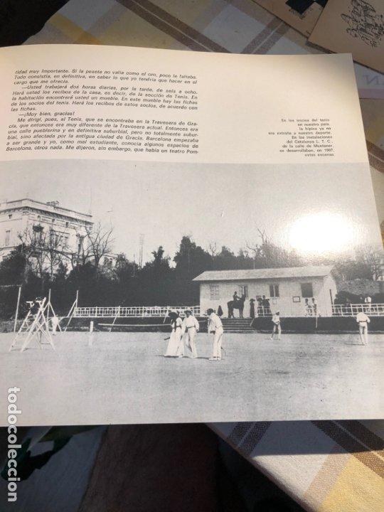 Coleccionismo deportivo: REAL CLUB DE TENIS BARCELONA 1899 75 ANIVERSARIO - Foto 4 - 177859845
