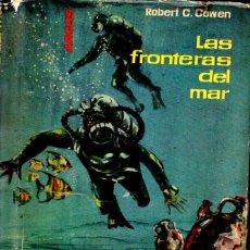 Coleccionismo deportivo: ROWEN COWEN : LAS FRONTERAS DEL MAR - LAS EXPLORACIONES OCEANOGRÁFICAS (ARGOS, 1961) SUBMARINISMO. Lote 178281602