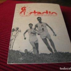 Coleccionismo deportivo: INTERESANTE LIBRITO ,ESTADIO.CRÓSS INTERNACIONAL DE SAN SEBASTIÁN .AÑO 1957. Lote 178605842