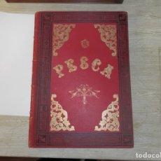 Coleccionismo deportivo: LIBRO RECOPILACION, LA PESCA EN TODOS LOS PAISES, CAPITAN ROBERT CAMPWELL,CON ILUSTRACIONES, S.XIX, . Lote 178685510