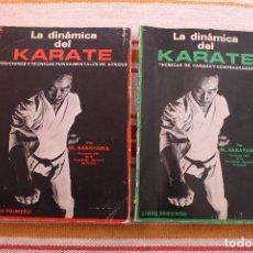 Coleccionismo deportivo: LA DINAMICA DEL KARATE: LIBRO PRIMERO Y SEGUNDO; M. NAKAYAMA. Lote 178824710
