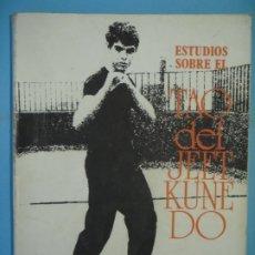 Coleccionismo deportivo: ESTUDIOS SOBRE EL TAO DEL JEET KUNEDO - FEDERICO CORRIENTE - EDITORIAL ALAS, 1982, 1ª EDICION . Lote 179145693