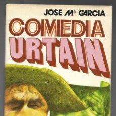 Coleccionismo deportivo: COMEDIA URTAIN, JOSE Mª GARCIA. PUBLICACIONES CONTROLADAS 1972, DIBUJO PORTADA ORTUÑO.. Lote 180031131