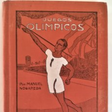 Coleccionismo deportivo: LIBRO AÑOS 20, LOS JUEGOS OLIMPICOS,EDICIONES LOS SPORTS,BARCELONA.FOTOGRAFIA FUNDADOR NUEVOS JUEGOS. Lote 181209428