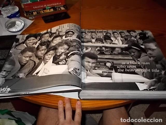 Coleccionismo deportivo: UN HOMENAJE A MUHAMMAD ALI . GREATEST OF ALL TIME . FOTOGRAFÍAS HOWARD L. BINGHAM / LEIFER. TASCHEN - Foto 5 - 181966271