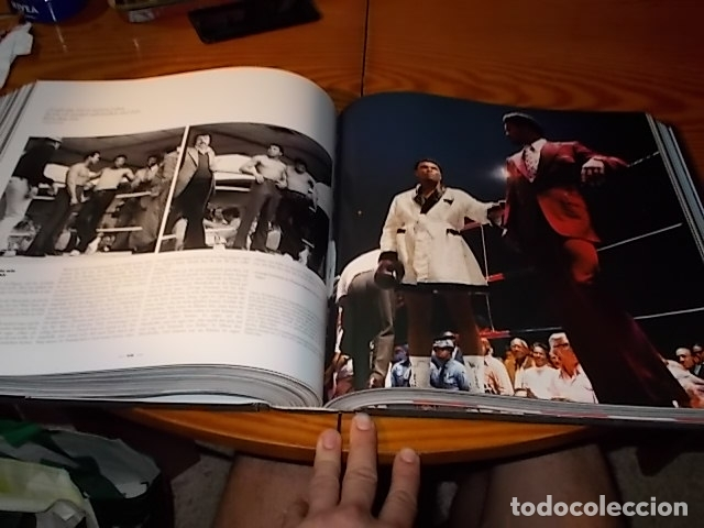Coleccionismo deportivo: UN HOMENAJE A MUHAMMAD ALI . GREATEST OF ALL TIME . FOTOGRAFÍAS HOWARD L. BINGHAM / LEIFER. TASCHEN - Foto 38 - 181966271