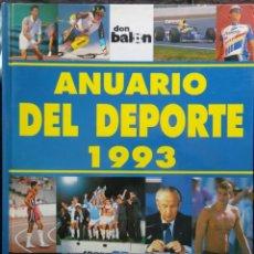 Coleccionismo deportivo: ANUARIO DEL DEPORTE DON BALÓN 1993. Lote 182179228
