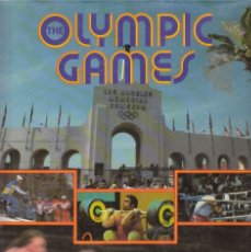Coleccionismo deportivo: THE OLYMPIC GAMES. ATHENS 1896 TO LOS ANGELES 1984.. Lote 182179322