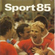 Coleccionismo deportivo: SPORT 85 (SPORTVERLAG BERLIN). Lote 182179331