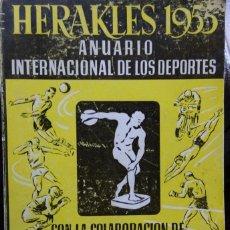 Coleccionismo deportivo: HERAKLES 1955 ANUARIO INTERNACIONAL DE LOS DEPORTES. Lote 182179592