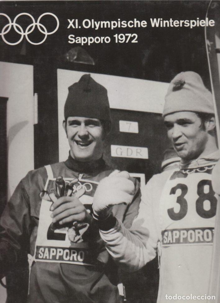 XI.OLYMPISCHE WINTERSPIELE SAPPORO 1972 (Coleccionismo Deportivo - Libros de Deportes - Otros)