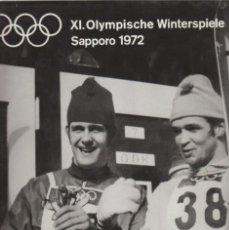 Coleccionismo deportivo: XI.OLYMPISCHE WINTERSPIELE SAPPORO 1972. Lote 182179882