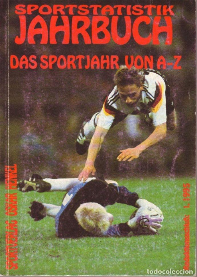 SPORTSTATISTIK JAHRBUCH DAS SPORTJAHR VON A-Z 1995 (Coleccionismo Deportivo - Libros de Deportes - Otros)