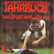 Coleccionismo deportivo: SPORTSTATISTIK JAHRBUCH DAS SPORTJAHR VON A-Z 1995. Lote 182180012